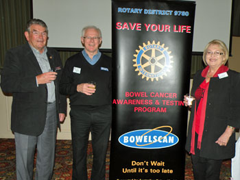 2016 Gordan Williamson Rotary Bowel Scan Month